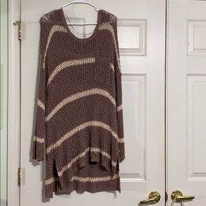 Free people oversized knitted sweater